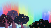 Manzanas Zap con forma de aurora