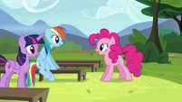 "Pinkie Pie ""So, d'you get it?"" S4E21"