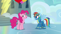 "Pinkie Pie ""going to wait until your hundredth"" S7E23"