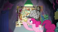 "Pinkie Pie ""she didn't eat the banana"" S7E23"