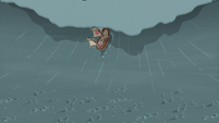 Ponies' ship consumed by the tidal wave S6E22