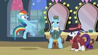 "Rainbow ""He's a living legend, for pony's sake!"" S5E15"