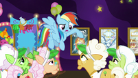 """Rainbow """"I'm not letting you grannies"""" S8E5"""