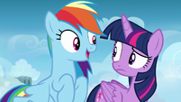 "Rainbow ""almost time for your freestyle training"" S6E24"
