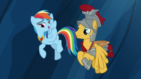 "Rainbow Dash ""banishing evil before breakfast"" S7E26"