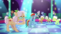 "Rainbow Dash ""probably enough dancing"" S8E5"