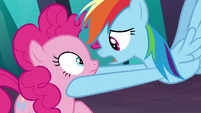 "Rainbow Dash ""say something funny"" S9E2"