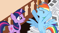 Rainbow Dash 'I'm a laughing stock!' S2E23