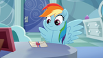 Rainbow Dash and letter Rainbow Roadtrip