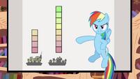 Rainbow Dash over 1000 S2E22