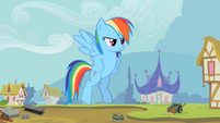 Rainbow Dash still proud S2E8