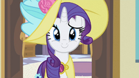 Rarity cheers her S2E9