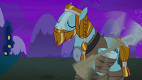 Rockhoof deftly spins his shovel S8E21