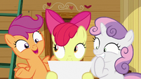 "Scootaloo ""and all kinds of food"" S9E22"