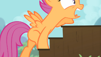 Scootaloo climbing up stairs 2 S4E05