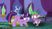Spike -I just had a sudden case of- S8E11