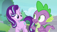 Spike -we can figure that out after- S8E15