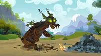 Spike saves Applejack 13 S3E09