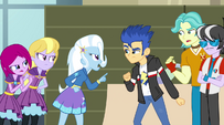 Trixie and Flash Sentry arguing EG2