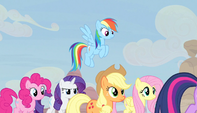 Twilight's friends follow her S5E1