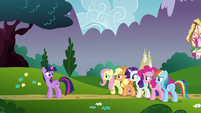 "Twilight ""and encourage everypony to remain inside"" S4E26"