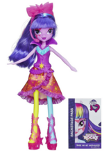 Twilight Sparkle Equestria Girls Rainbow Rocks Neon doll