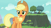Applejack -if you think a bridge is a good idea- S8E9