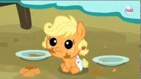 Applejack As A Baby (So Cute~!)
