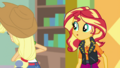 Applejack peeling an apple behind her back EGDS2.png