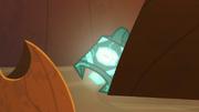 Bewitching Bell hidden behind a rock S9E8