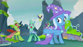 Changelings shrieking over the maulwurf S7E17.png