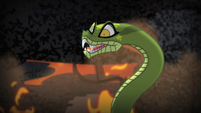 Chimera snake head hypnotic eyes S4E17