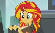 Dear Princess Twilight... Your Friend Sunset Shimmer
