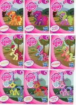EU wave 1 mystery packs scans - Bumblesweet, Fizzypop, Flower Wishes, Roseluck, Sweetie Blue, Pepperdance, Lemon Hearts, Cherry Spices, Sweetie Swirl