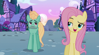 Fluttershy --we talked about you getting a job-- S6E11