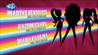My Little Pony Equestria Girls Rainbow Rocks 'Maryke Hendrikse as Sonata Dusk', 'Kazumi Evans as Adagio Dazzle' & 'Diana Kaarina as Aria Blaze' Credits - French