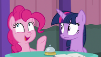 "Pinkie Pie ""and grapes!"" S9E16"