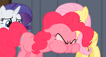Pinkie Pie about to blow her top S2E14