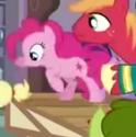 Pinkie Pie cutie mark error S4E14
