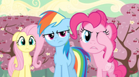 Pinkie Pie making a Pinkie Promise S2E14