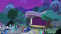 Ponies filling the audience seats S8E7.png