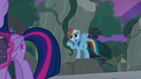 "Rainbow ""I don't think anypony's seen any of this"" S7E25"
