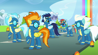 "Rainbow Dash ""I guess they're with me"" S7E7"