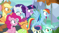Rainbow Dash -that was insane!- S8E20
