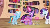 Rainbow Dash hears the book was delayed S4E04