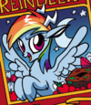 Rainbow Dash reindeer ID MLPHS