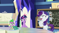 "Rarity ""our own unexpected part"" S9E4"