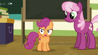 "Scootaloo ""it's too dangerous"" S9E12"