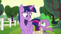 Spike --get them to talk again-- S6E22