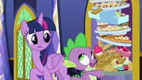 Spike -so he can show me how- S8E24